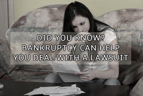 Bankruptcy vs. Lawsuit